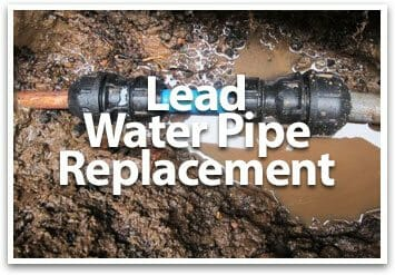 lead water pipe replacement