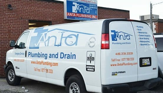 Anta Plumbing maintenance van vehicle