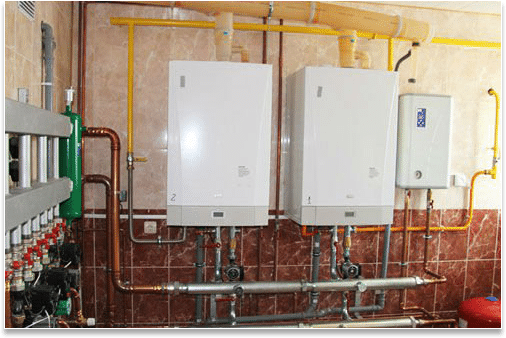 Toronto home heating system combined heating boiler for Home heating systems types