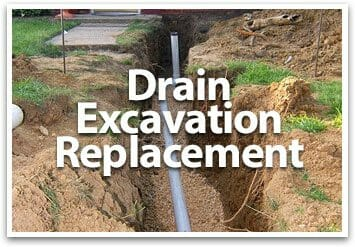 drain excavation replacement