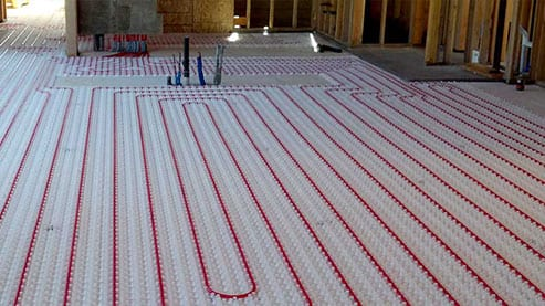 Radiant Floor Heating services